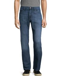 J Brand Kane Straight Fit Pant - Blue