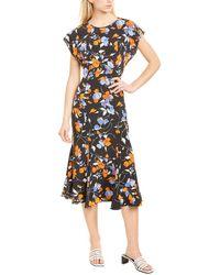 Joie Haben Silk Maxi Dress - Black