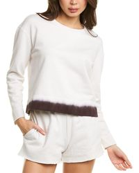James Perse Cropped Sweatshirt - White