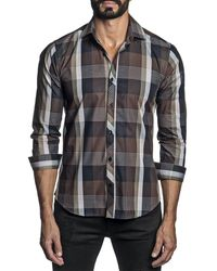 Jared Lang Woven Shirt - Brown