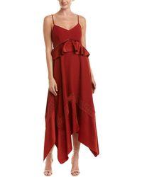 Rachel Zoe Astrid Midi Dress - Red
