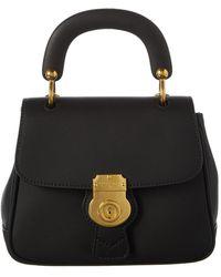 Burberry - Dk88 Top Handle Leather Shoulder Bag - Lyst