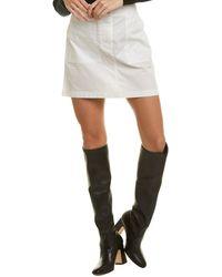 Theory Utility Skirt - White
