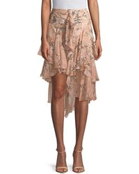 Jason Wu - Unbalanced Ruffle Skirt - Lyst