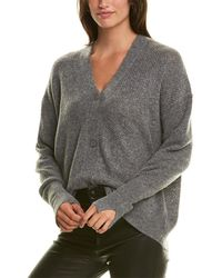 Michael Stars Carly Wool-blend Cardigan - Grey