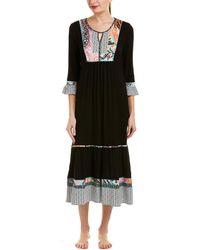 Ellen Tracy - 3/4-sleeve Nightgown - Lyst