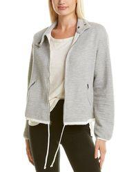 Vimmia Groove Snap Collar Jacket - Grey