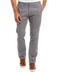 Grayers Newport Slim Fit Chino - Grey