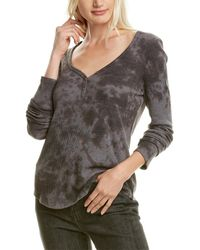 Michael Stars Briann Henley Shirt - Grey