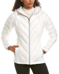 Spyder Syrround Hoody Hybrid Down Jacket - White