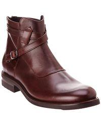Frye - Men's Stone Cross Leather Boot - Lyst