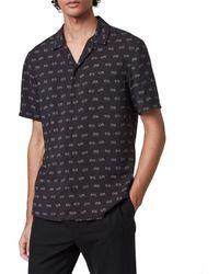 AllSaints Allsaints Snakeyes Shirt - Black