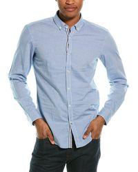 BOSS by HUGO BOSS Rikard Slim Fit Woven Shirt - Blue