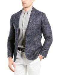 Brunello Cucinelli Wool-blend Blazer - Blue
