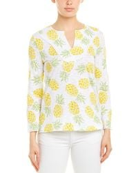 Brooks Brothers Top - White