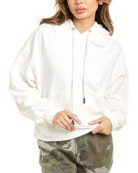 Pam & Gela Hooded Sweatshirt - White