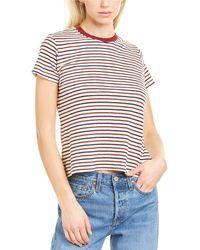 Velvet By Graham & Spencer Gidget Stripe T-shirt - Blue