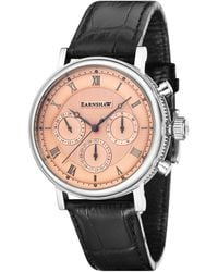 Thomas Earnshaw Leather Watch - Multicolor