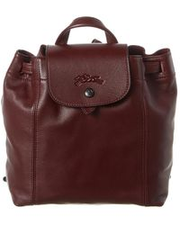 Longchamp Le Pliage Cuir Xs Leather Backpack - Multicolor