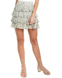 Sage the Label Rossy Mini Skirt - Green
