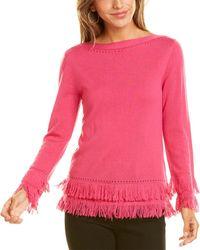 Trina Turk Suez Wool Jumper - Pink