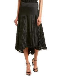 Alexis Danos Midi Skirt - Black
