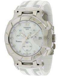Tissot Women's Rubber Watch - Metallic