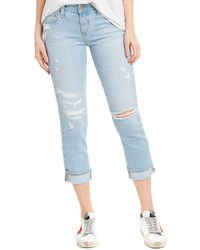AG Jeans The Ex-boyfriend 28 Years Languish Mended Slouchy Slim Leg - Blue