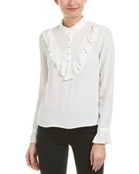 7 For All Mankind 7 For All Mankind Ruffle Blouse - White