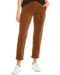 Democracy Roll Cuff Pant - Brown