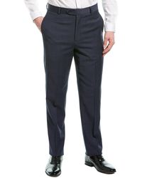 Brooks Brothers Wool-blend Suit Trouser - Blue