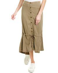 XCVI Midi Skirt - Green