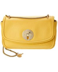 See By Chloé Lois Leather Shoulder Bag - Yellow