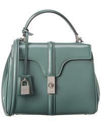 Celine Small 16 Leather Satchel - Multicolour