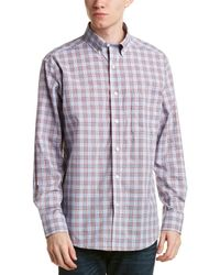 Bills Khakis - Standard Issue Classic Fit Woven Shirt - Lyst