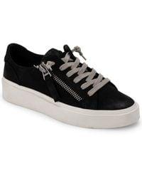 Dolce Vita Viro Leather Sneaker - Black