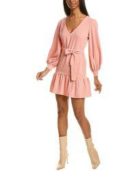 Amanda Uprichard Selene Mini Dress - Orange