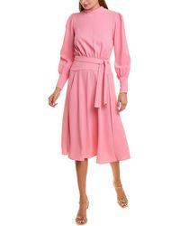 Elisabetta Franchi Detachable Skirt Cocktail Dress - Pink