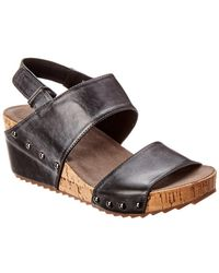 Antelope - 534 Leather Wedge Sandal - Lyst