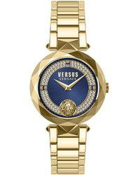 Versus Versus By Versace Covent Garden Crystal Watch - Metallic