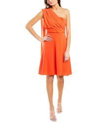 Mikael Aghal Mini Dress - Orange
