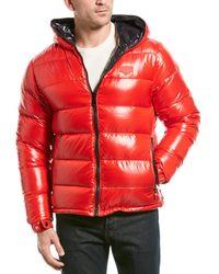 Duvetica Puffer Down Coat - Red