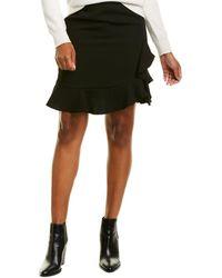 Karl Lagerfeld Ruffle Skirt - Black