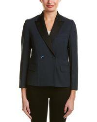 GANT Wool-blend Blazer - Blue