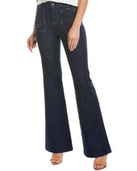 7 For All Mankind 7 For All Mankind Georgia Uptown Rinse Flare Leg - Blue