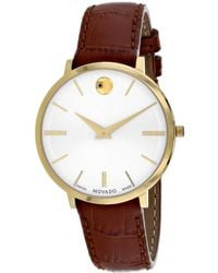 Movado Women's Ultra Slim Watch - Multicolour