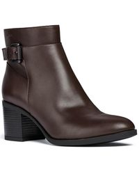 Geox Asheel Ankle Boot - Brown