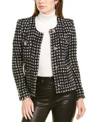 IRO Tetys Wool-blend Jacket - Black