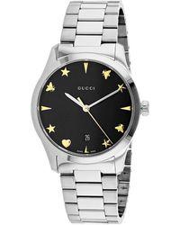 Gucci G-frame Watch - Metallic