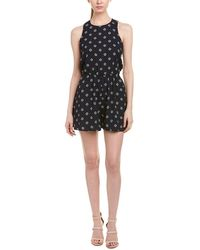 The Fifth Label Label Printed Romper - Blue